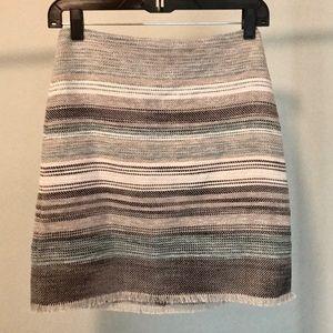 NWT LOFT tweed skirt